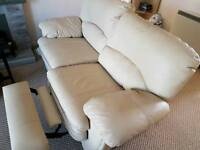 2 Reclining Leather Sofa's