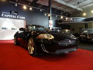 2011 Jaguar XK XKR / CONVERTIBLE / SUPERCHARGED / ONLY 16,000KMS