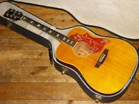 Gibson Hummingbird Custom dreadnought acoustic early 70s