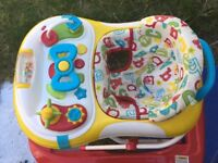 Baby walker in good condition ready to go