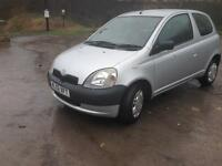 02/03 TOYOTA YARIS 1.0 GS VVTi 3 DOOR