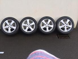 "16"" Honda alloys and tyres for sale"