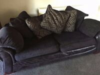 Bargain 3 seater and 2 seater sofa