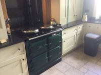 Aga Cooker . Modern model gas fired. Available in October