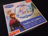 DISNEY FROZEN SNAKES AND LADDERS BOARD GAME (LISTED TIL SOLD)