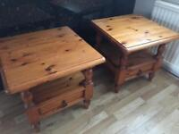 2 x tables £30