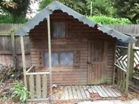 Wooden Playhouse For Free!