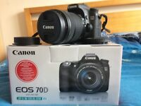 Near Mint Canon 70D DSLR w/ EF-S 18-135mm IS STM & EF 50mm f/1.8 II & Accessories