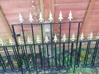 Iron metal fence fencing Bargain!!