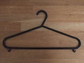 126 Plastic Coat Hangers