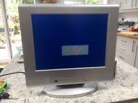 "Mogen 15"" LCD TV + Remote"