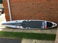 "Red Paddle Elite 12' 6"" x 26"" 2017 Inflatable stand-up paddle board, Ex-demo very good condition"