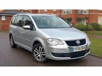 2009 Volkswagen Touran 2.0 TDI SE MPV 5dr (7 Seats) **F/S/H+HIGH SPEC+MINT+2 OWNERS**