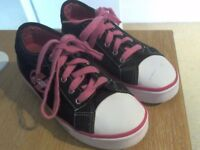 Heelys Fresh X2 Black/Pink Shoes With Wheels
