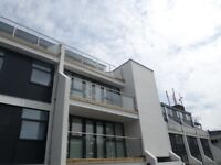 Modern large 2 bed apartment. S3. Private parking.