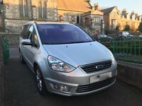 Ford Galaxy Titanium X 2.0 tdci 163 Powershift DSG Automatic Leather 7 seater in silver