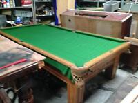 Pool table slate bed 9x5 ideal Xmas present