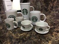 Starbucks cups and mugs