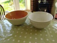 two mixing bowls
