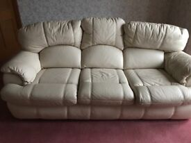 Sofa great leather sofa for sale , great condition