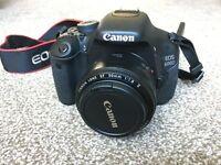 Canon 600D plus 50mm lens