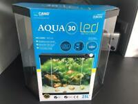 25l Fish Tank - Ciano 'Aqua 30' with LED light