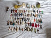 Star Wars extensive figure and collectible collection. Including vintage last 17 figures.