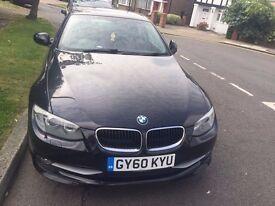 BMW 320D 2.0 Se Auto Black 2010 Model   CLEAN BEAUTIFUL CAR   LEATHER SEATS   LONG MOT