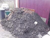 Big pile of top soil to go