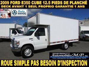 2009 Ford E-350 CUBE 12.5 PIEDS INTÉRIEUR TRES RARE