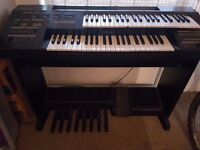 Electric Organ - Double Keyboard and pedals - Great Condition