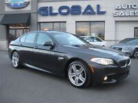 2012 BMW 535i xDrive (A8) ONE OWNER, M-SPORT PKG. , ACCIDENTS  F