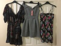 Women's dresses, tops, cardigans, scarfs. Warehouse, Oasis, Dorothy Perkins and more. Sizes 8-14