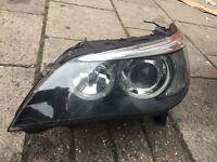 Bmw e60 headlights