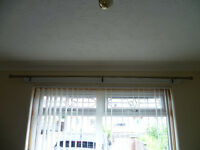 curtain poles and tie backs