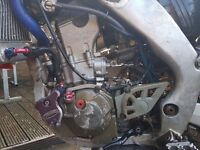 Crf 250 r top race spec with map switch
