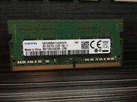 DDR4 SAMSUNG 4GB 1Rx8 PC4-2133P
