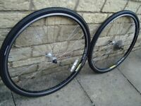 ALEXRIMS 700c HYBRID ROAD BIKE WHEELS 28 INCH - - uk delivery available / paypal