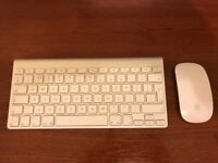 Apple Magic Wireless Mouse and Keyboard