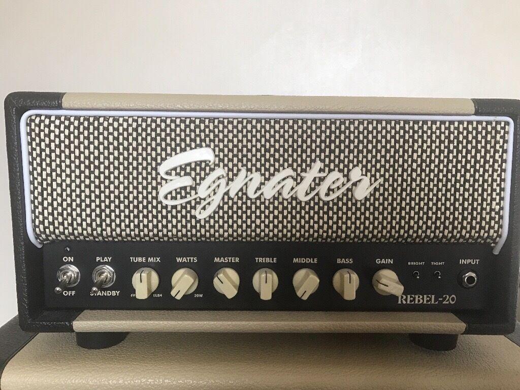 Egnater Rebel 20 - Guitar valve amp with matching speaker cabinet ...