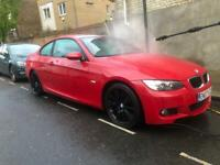 BMW 320i coupe red e92 84k service history 4 previous owners