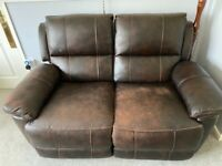 Recliner Sofa and Armchair
