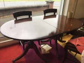 Inning room table