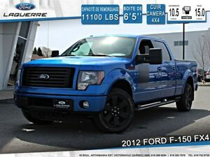 2012 Ford F-150 FX4*4X4**CUIR*CAMERA*CRUISE*A/C**