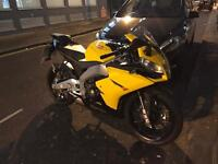 APRILIA RS4 66 PLATE 2 KEYS WARRANTY AND ALL DOCUMENTS