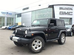 2015 Jeep Wrangler Sahara leather, navigation