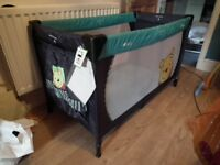 Hauck Winnie the Pooh Travel Cot/Play Pen, nursery baby furniture