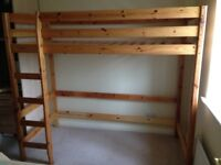 Single Wooden Bunk Bed