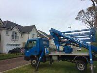 cherry picker/ truck mounted access platform