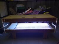 Sunbed Tanning Bed Fully Working Order
